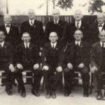 Gründer des TSG von 1922 anl. des 40. jährigen Jubiläums 1949.