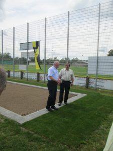 Frank Lortz (Vizepräs. Hess. Landtag) & Michael Seifert (TSG Vorsitz)